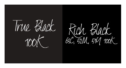 true black vs rich black