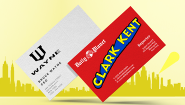 super business cards