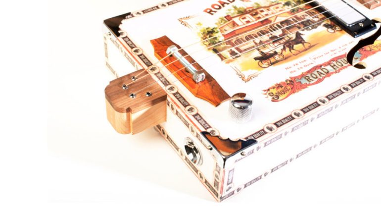 Cigar Box Guitars textured laid certificates